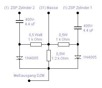 Schaltung für 4T Drehzahlmesser am 601 - Technik [Tuning ...