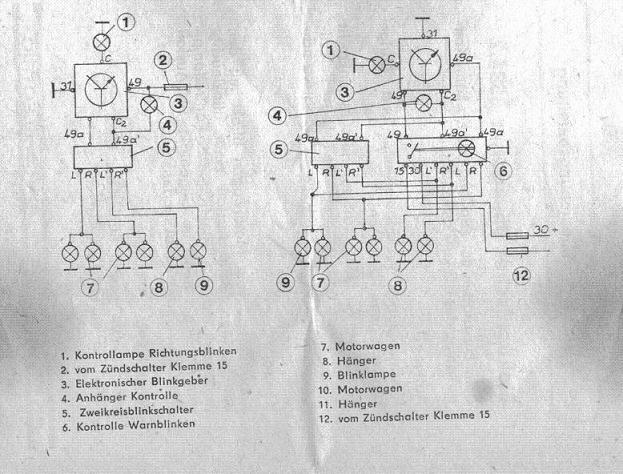 AHK Nachrüstung - Blinkrelais - Technik [Allgemein] - PappenForum.de