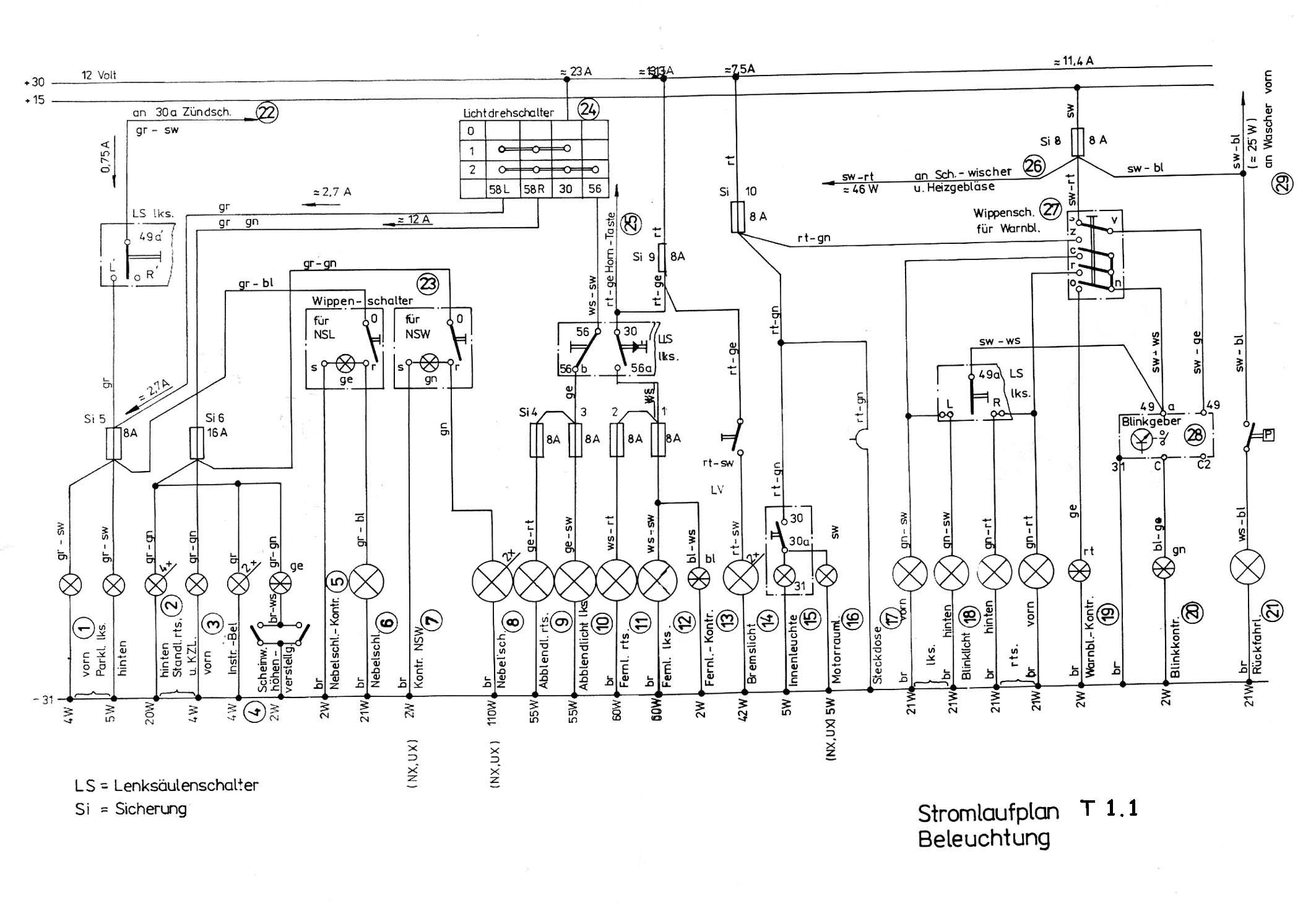 Großzügig Schaltplan Für Beleuchtungsstromkreis Fotos - Elektrische ...