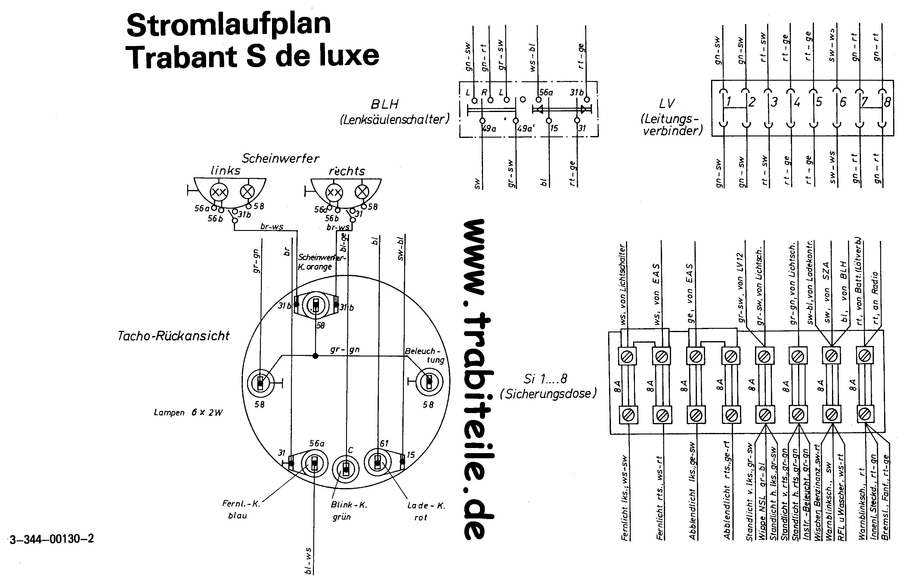 Trabant E-Zündung Schaltplan - Technik [Allgemein] - PappenForum.de